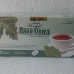 TEH CELUP HERBAL DAUN DEWA TAZAKKA – (Minuman Herbal)